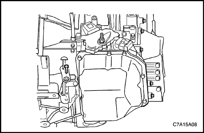 Шевроле каптива масло в коробку