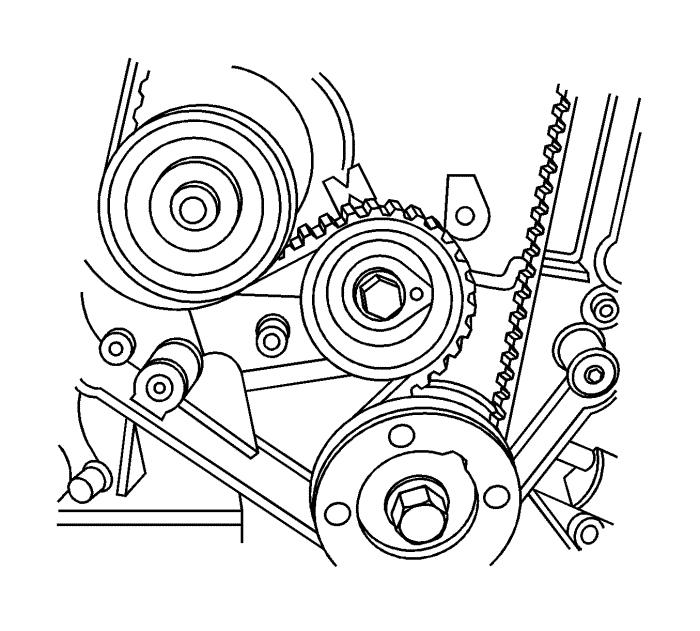 Схема установки ремня на ниву шевроле