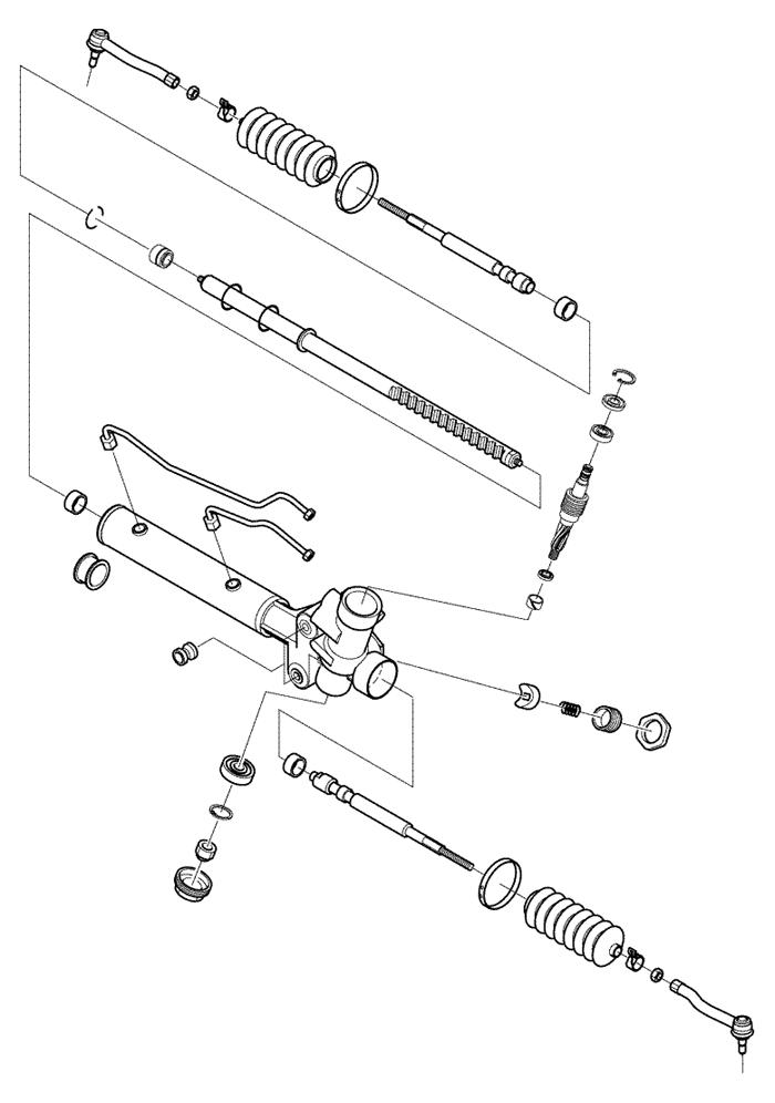 Ремонт рулевой рейка лачетти своими руками